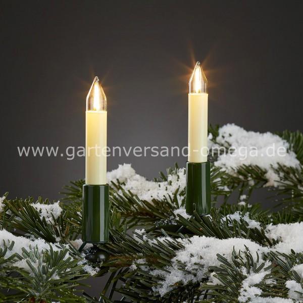 Hochwertige Weihnachtsbeleuchtung.Led Filament Schaftkerzen Lichterkette