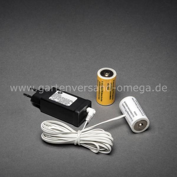 Netzadapter für Batterieartikel 2x Typ C Baby