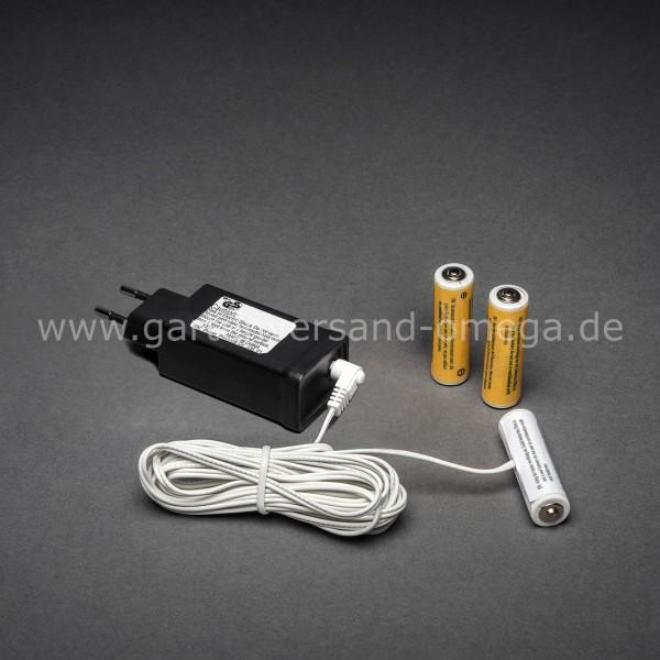 Netzadapter für Batterieartikel 3x Typ AA Mignon