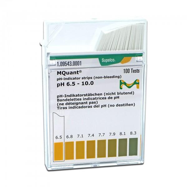 MColorpHast pH-Indikatorstäbchen pH 6,5-10,0