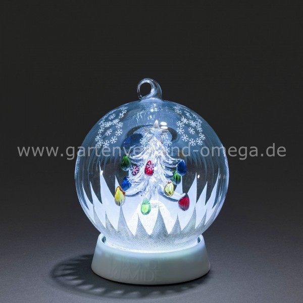 LED Dekoglaskugel Weihnachtsbaum