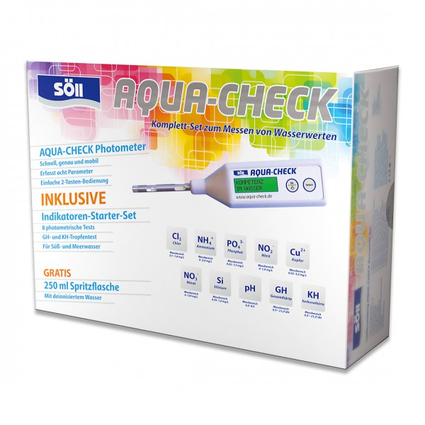 Söll AQUA-CHECK Multiparameter-Photometer Set