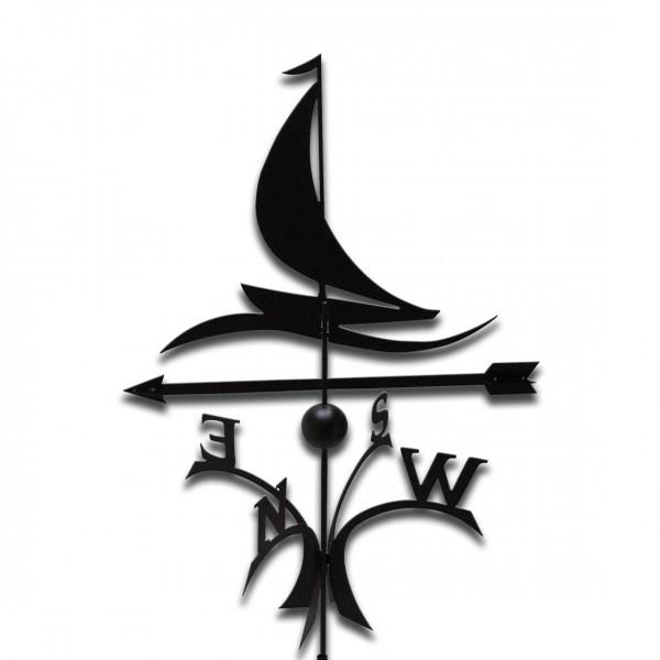 Design-Wetterfahne Segelboot