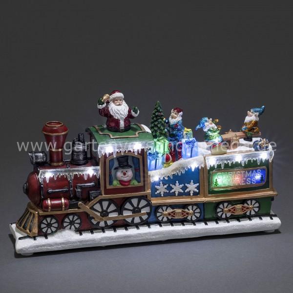 LED-Szenerie Zug Weihnachts-Express