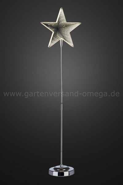 3D-Infinity Stern mit Standfuß 75cm