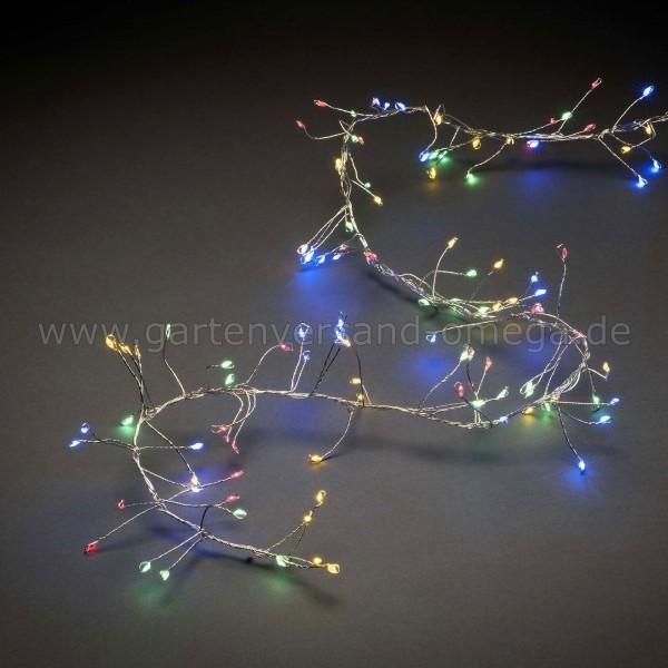 Micro-LED Clusterlichterkette für Innen - Bunt