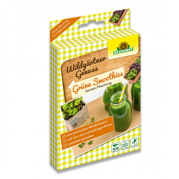 Neudorff WildgärtnerGenuss Grüne Smoothies