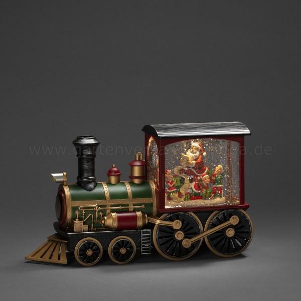 Wassergefüllte LED-Dekoration Lokomotive