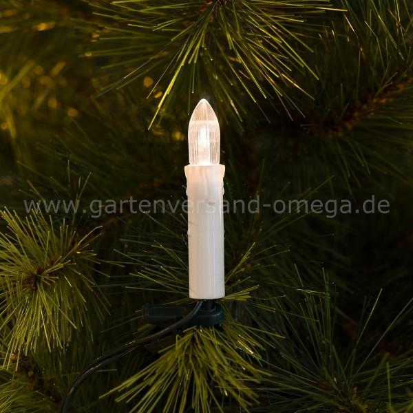 Christbaumkette One-String mit LED-Kerzen