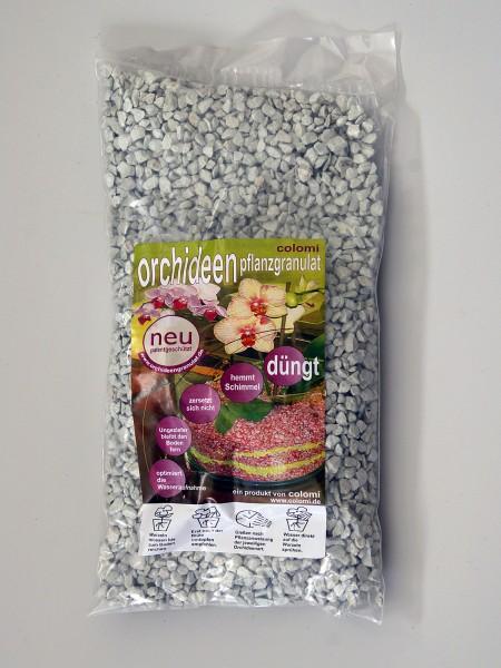 Colomi Orchideengranulat Weiß Fein