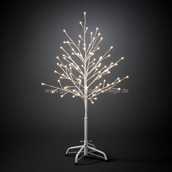 Künstlicher Weihnachtsbaum Außen.Led Lichterbaum Weiß
