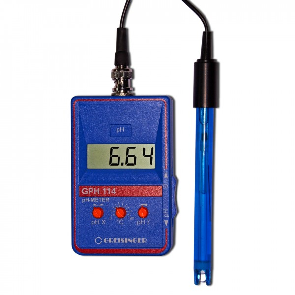 Greisinger Digitales pH-Meter GPH114