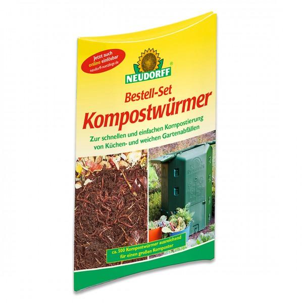 Neudorff Kompostwürmer Bestell-Set