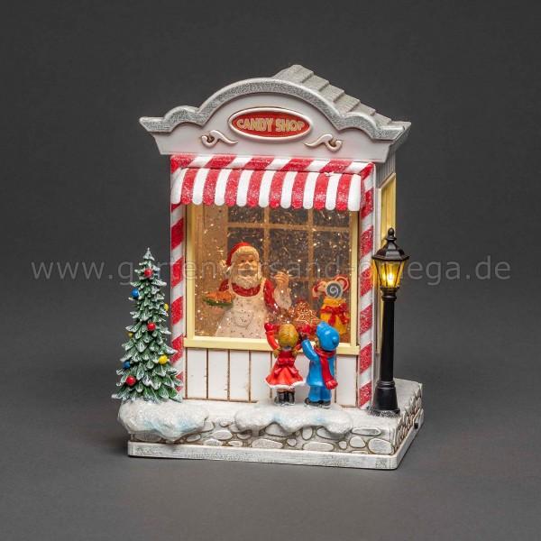 LED-Weihnachtsdekoration Süßwarenladen
