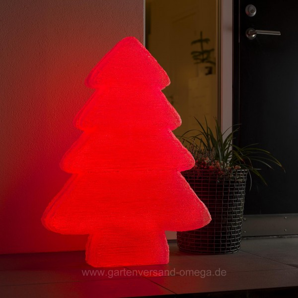 led acryl tannenbaum mit farbfunktionen 85cm weihnachtsbeleuchtung mit einstellbarer farbe. Black Bedroom Furniture Sets. Home Design Ideas