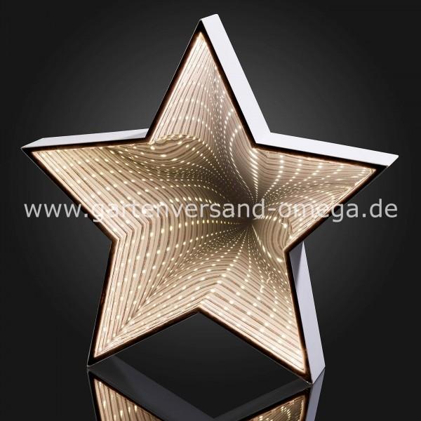 LED Infinity-Stern zum Hängen und Stellen