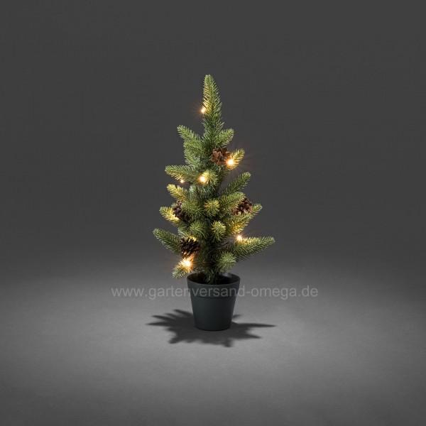 Batteriebetriebener LED-Weihnachtsbaum 45cm für Außen