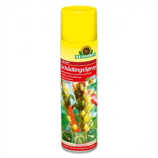Neudorff Spruzit SchädlingsSpray - zur Bekämpfung von z.B. Blattläusen, Spinnmilben, Weiße Fliege