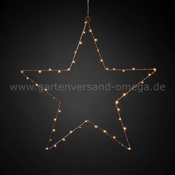 Weihnachtsdeko Aus Metall.Led Metallstern Hängend