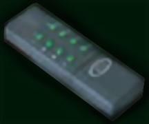 Funkhandsender für Energieverteiler Stein