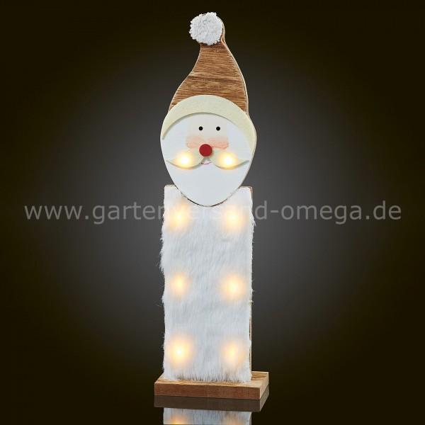 LED-Holzweihnachtsmann