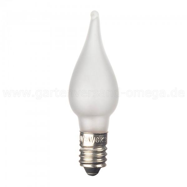 Ersatzbirnchen für Lichterkette gefrostet mit Wachsoptik (KS-2314-000)