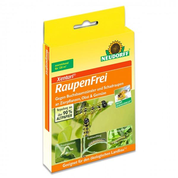 Neudorff Raupenfrei XenTari - gegen Schadraupen an Zierpflanzen, Obst, Gemüse und Wein