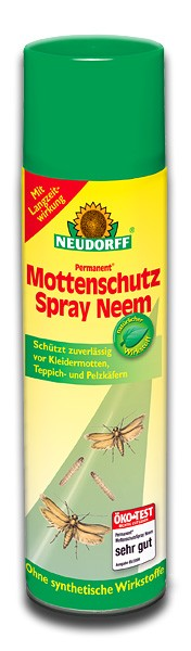 neudorff permanent mottenschutzspray neem mottenspray. Black Bedroom Furniture Sets. Home Design Ideas