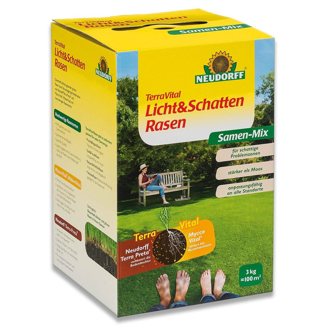 Neudorff TerraVital Licht&SchattenRasen 3 kg Rasen selbst