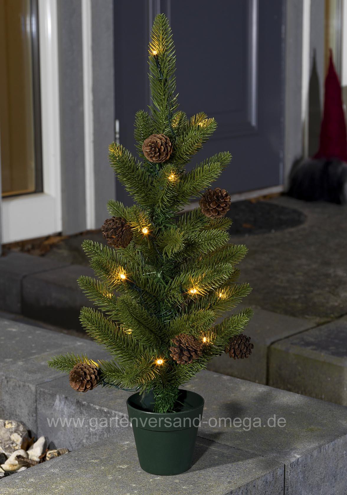 batteriebetriebener led weihnachtsbaum 60cm f r au en mini led weihnachtsbaum kleiner. Black Bedroom Furniture Sets. Home Design Ideas