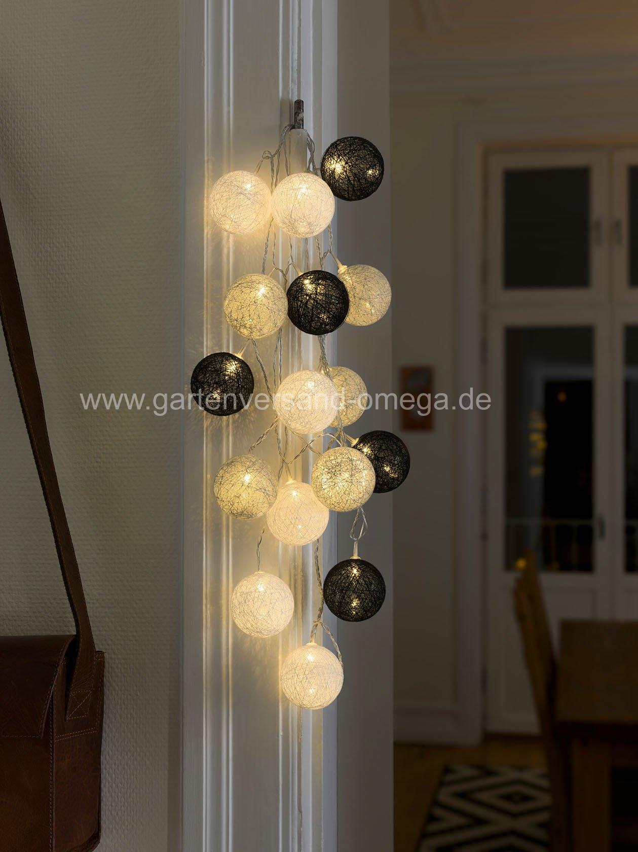 3136-573-led-baumwollkugellichterkette-schwarz-grau-weiss-gross_hd2-large Fabelhafte Künstlicher Weihnachtsbaum Mit Led Dekorationen
