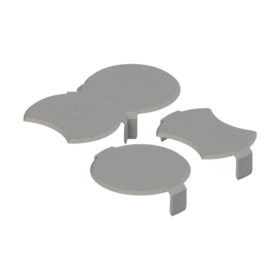 bio rasenkante schneckenbremse granitgrau schneckenschutz schnecken fernhaltemittel. Black Bedroom Furniture Sets. Home Design Ideas