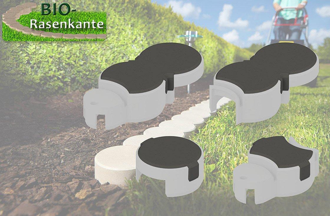 bio rasenkante schneckenbremse anthrazit zubeh r rasenkantensteine schneckenschutz. Black Bedroom Furniture Sets. Home Design Ideas
