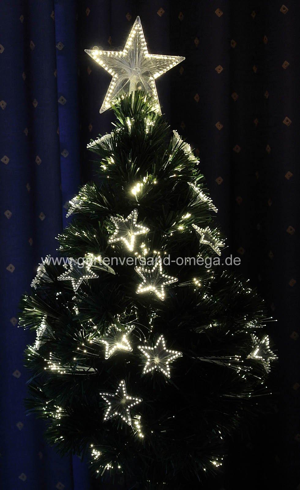 fiberoptik weihnachtsbaum mini weihnachtsbaum. Black Bedroom Furniture Sets. Home Design Ideas